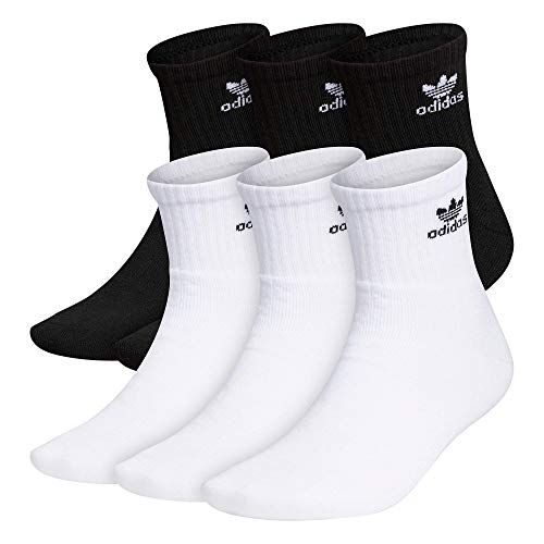 adidas Originals Men's Trefoil Quarter Socks (6-Pair)