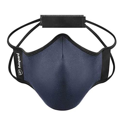Livinguard MaskenNow Fitness-Maske, verstellbar, für Leistungs-Fitness, Workout, Laufen, Widerstand, Cardio (groß)