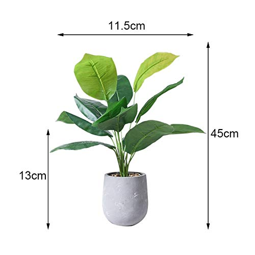 Artificial Cactus - Artificial Flower Nordic Minimalist Style Simulatie Green Plant Potted Turtle Leaves Cactus Grass - Containers Rectangular Herfstbloesem Nerly Resistant Outdoor Size Blu 4