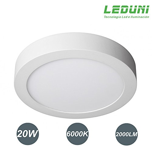 DOWNLIGHT PANEL SUPERFICIE LED CIRCULAR 20W plafon