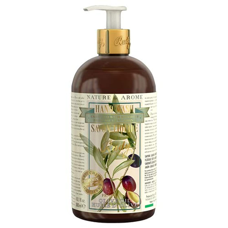 耐えられない明るい火山のRUDY Nature&Arome Apothecary ネイチャーアロマ アポセカリー Hand Wash ハンドウォッシュ(ボディソープ) Olive Oil オリーブオイル