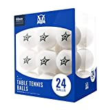 Victory Tailgate NHL Table Tennis Balls 24 Count - Dallas Stars