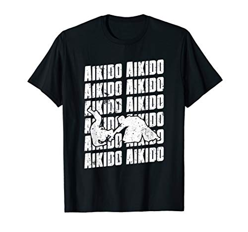Aikido Repeat T-Shirt Combat Hakama...