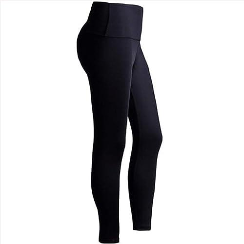 Asnvvbhz Pantalons de Yoga Pantalons de Yoga Collants Extensible Pantalons Capris, Contrôle du Ventre, Leggings Femmes Longueur Pantalon (Taille   L)