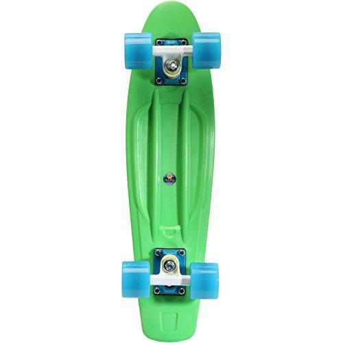 AREA Skateboard-Komplettset grün Einheitsgröße