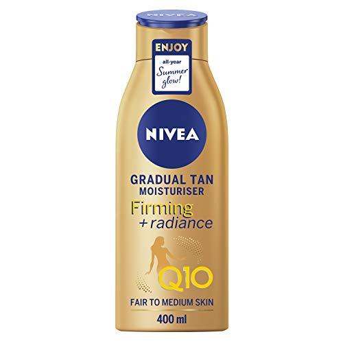 NIVEA NIVEA Body Q10 - Idratante per il corpo graduale abbronzatura equa a media