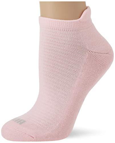 PUMA Womens Women's Sneaker-Trainer (2 Pack) Socks, pink, 35/38