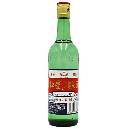 Er Guo Tou Jiu 500ml 56% vol. China Original Schnaps aus Hirse
