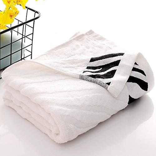 XXYHYQHJD La Fibra de bambú patrón de la Piel del Tigre baño Toallas for Uso doméstico del Agua Absorbente Toalla de baño Toalla Juego de Belleza Facial Toallas Toalla de baño