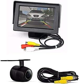 Camera De Ré + Tela Lcd 4.3 P/Estacionamento Ou Tela De Dvd