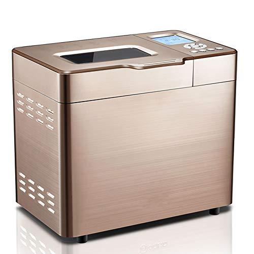 Máquina para hacer pan Máquina para hacer pan de horneado rápido Fermentación de fideos para el hogar completamente automática Silenciar la cara Cita de 16 horas Wifi Tostadora Máquina de desayu
