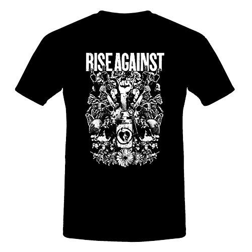 CID - Rise Against - Protest Logo T-Shirt Schwarz/Black