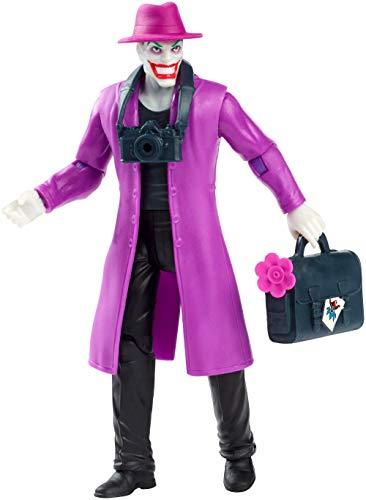 JUSTICE LEAGUE- Figura Básica Joker, Multicolor (Mattel FVM81)