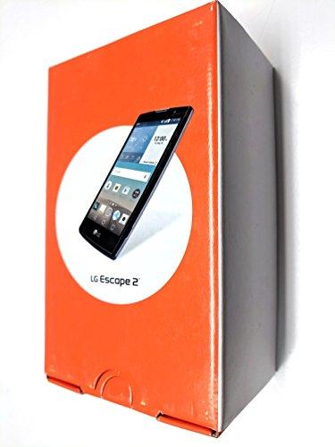 LG Escape 2 H443 Unlocked GSM 4.7' HD Display Quad-Core Android 5.1 Smartphone w/ 8MP Camera - Black (Renewed)