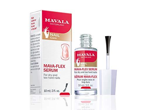 Mavala Mava-Flex Serum para Uñas Secas y Duras   Hidrata   Restaura   Mantiene la Flexibilidad de las Uñas, 10 ml