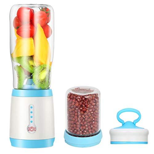JAD@ Smart Portable Electric Glass Juice Cup Juice Cup Rechargeable Household Mini Fruit Juicer Grinding Machine Can Make Juice Milkshake Food Supplement Grinding Beans