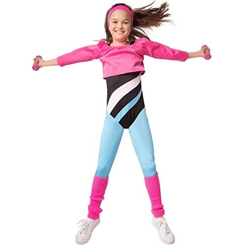 dressforfun 900568 Fitness-Sternchen, Aerobic-Outfit im Stil der 80er Jahre (152| Nr. 302734)