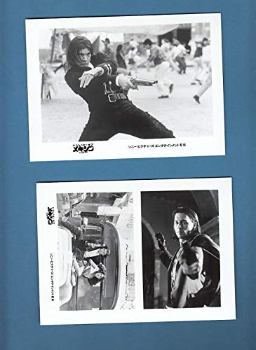 su1060 洋画キャビネ写真 2 枚セット[レジェンド・オブ・メキシコ デスペラード 2003 年作品 ]ロバート・ロドリゲス監督 アントニオ・バンデラス、ジョニー・デップ