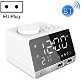 Projection Clock K11 Bluetooth Alarm Clock Speaker Creative Digital Music Clock Display Radio