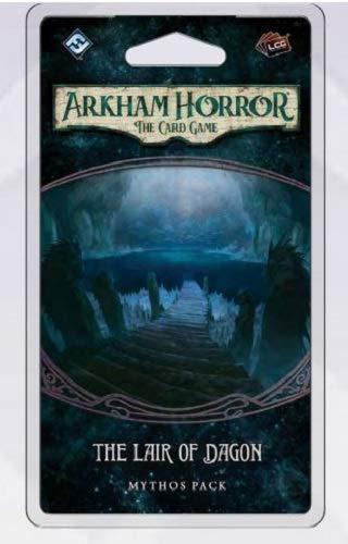 Fantasy Flight Games FFGAHC57 Guarida de Dagon-Mythos Pack: Arkham Horror LCG Exp
