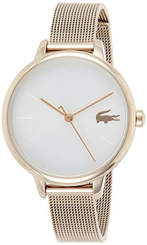 Lacoste Reloj Analógico para Mujer de Cuarzo con Correa en Acero Inoxidable 2001103
