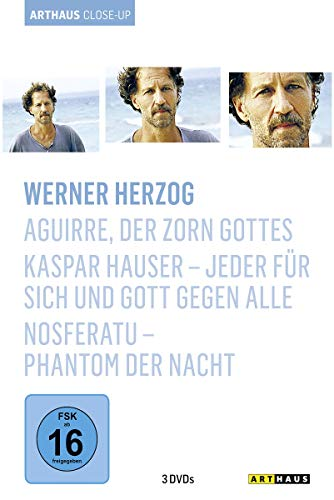 Werner Herzog - Arthaus Close-Up (Aguirre, der Zorn Gottes / Kaspar Hauser - Jeder für sich und Gott gegen alle / Nosferatu - Phantom der Nacht) [3 DVDs]