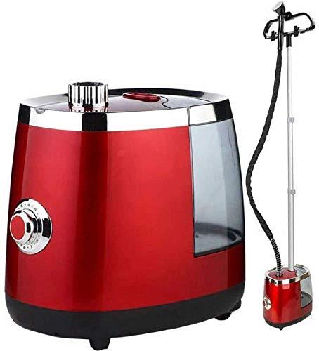 NLRHH Vapor Vertical vaporizador portátil Inicio de Planchado vaporizador Vertical vaporizador de pie, Rojo Peng