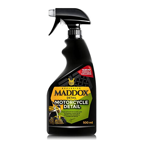Maddox Detail - Motorcycle Detail - Limpiador para Motos. Sin Agua (500ml)
