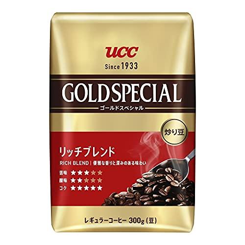 UCC 炒り豆 ゴールドスペシャル リッチブレンド AP 300g×6個