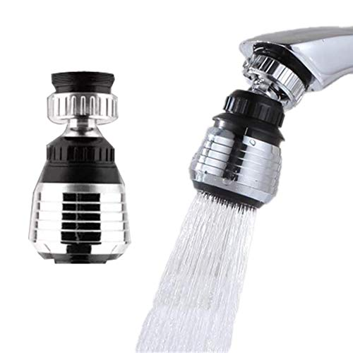 2 Pack Faucet Filter Aerator Sprayer, Sink 360 Swivel Water Tap...