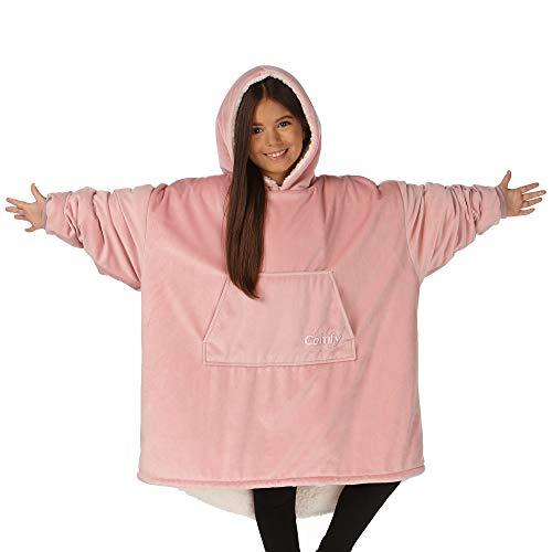 THE COMFY The Blanket La frazada Confortable. Es una Sudadera, Talla Única, Suave, y cómoda Sudadera originalmente presentada en Shark Tank
