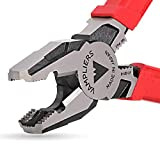 """VAMPLIERS. World's Best Pliers. 8"""" PRO, Screw Extractor Pliers to Remove Rusted/Damage/Specialty Screws nuts and Bolts/Black Friday Cyber Monday Week Prime Deal, Make the Best Gift (PRO with Pouch)"""