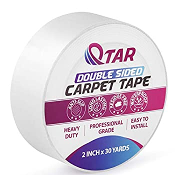 Qtar Removable Double Sided Carpet Tape Review