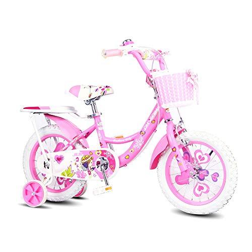 BAOMEI Kids Bike Freestyle Boys Girls Girls Children Bicycles 12 Inch, 14 Inch, 16 Inch, 18 Inch with Stabilizer, Bracket (Size : 16in)