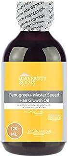 Fenugreek + Master Speed Hair Growth Oil (Hair Thinning, Hair Shedding, Hair Shrinkage)