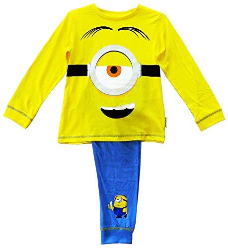 Jungen Offiziell Despicable Me Minions Neuheit Kostüm Pyjama Größen Von 2 Sich 8 Jahre - Multi, 7-8 Years