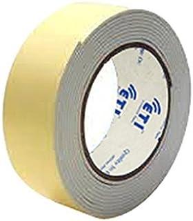 FINALDEALS Double Side Foam Tape paper tape double side tape 12mm X 5mm Set of 2 Tapes