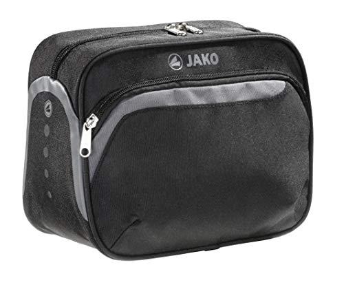 aufhängbare Kulturtasche von Jako in elegantem Schwarz - abwaschbar - Immer gut organisiert hochwertiger Kulturbeutel, das perfekte Accessoire