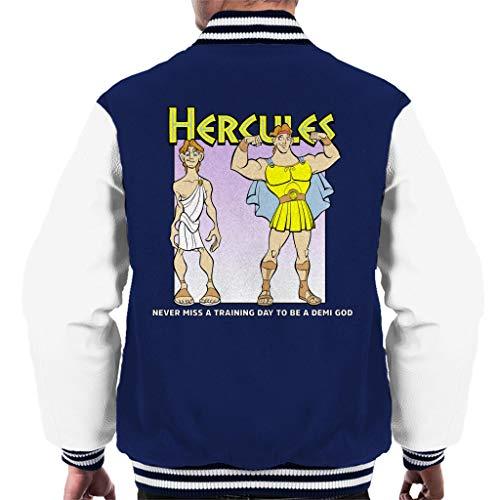 Disney Classic Hercules mist nooit een trainingsdag Varsity Jacket voor heren