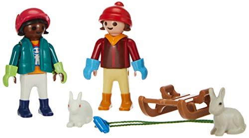 PLAYMOBIL Special Plus 70250 Kinder mit Schlitten, ab 4 Jahren