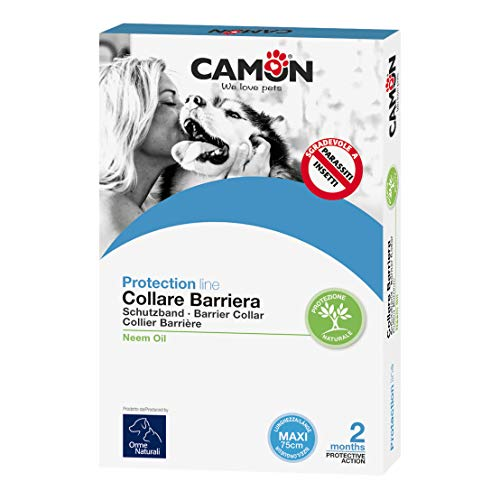 CAMON Collier de chien Barrière Neem Pesticides Dog