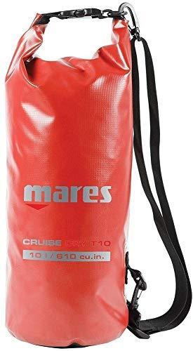 Mares Cruise Dry 10l Tauchrucksäcke, rot, 10 L