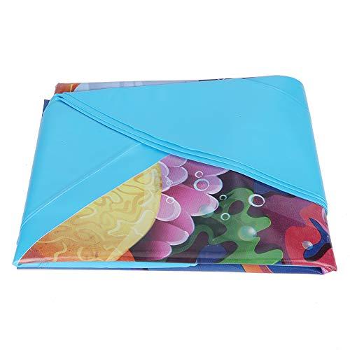 Taidda- Spray Water Pad, Gepersonaliseerd Praktisch voor Verjaardagscadeaus Buiten Strand Gazon Speelgoed Zomer Zwembad Feestjes Opblaasbare Sprinkler Speelkleed (# 1)