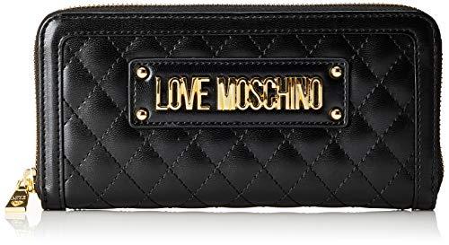 Love Moschino Unisex-Erwachsene Jc5600pp18la0000 Geldbeutel, Schwarz (Nero), 9x2x20 Centimeters (W x H x L)