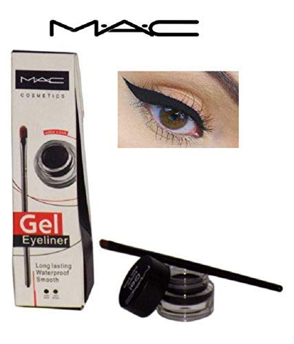 M.A.C Gel Eyeliner Long-Lasting Waterproof Smooth (Black)