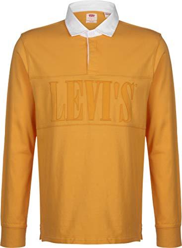 Levi's® Authentic Pieced Rugby Polo de Manga Larga