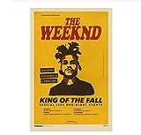 JIUJIUJIU Poster und Drucke The Weeknd Music Poster Home