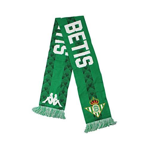 Kappa ACREFT 3 Bufanda Real Betis, Unisex, Verde, Talla única, Estándar (311CPBW_A00_T05)