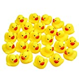 ruiting Kinder Treiben Badespielzeug Cartoon Squeak Spielzeug Badespiel Schwimmdock Pinch-Ball Spielzeug Klassische Angeln Spielzeuge für Baby 25pcs