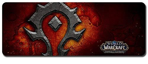 World of Warcraft großes Mauspad - wasserdicht und rutschfest (110, 900 * 400 * 3MM/35.5 * 15.7 * 0.12inch)